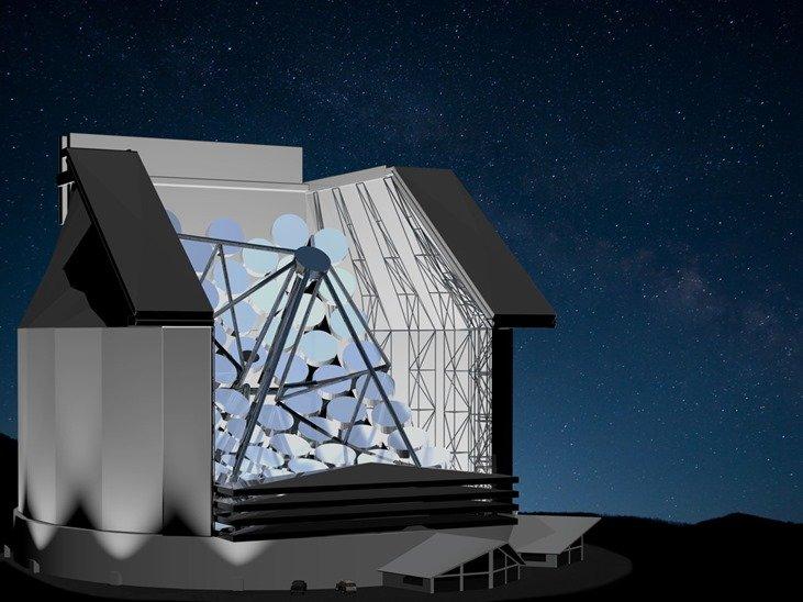 SETI's Colossus telescope